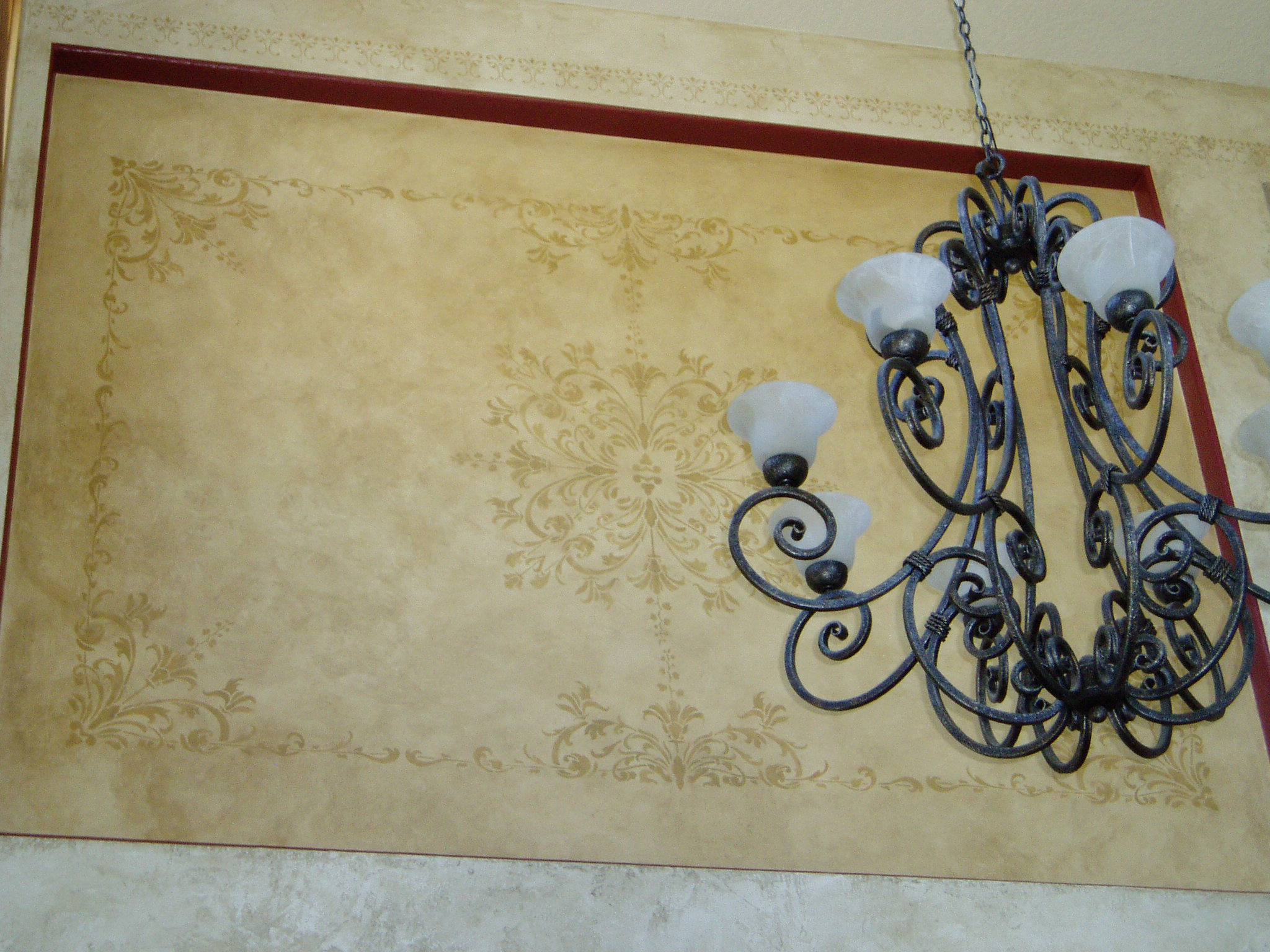 Decorative Painting For Accent Walls And Niches G Go
