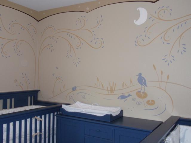 G Go Decorative Mural Kids Wall Artist