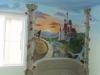 Children's Girls Room Mural