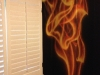 Flame Murals for Kids Wall by G.Go Decorative