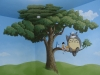 My Neighbor Totoro Kids room mural