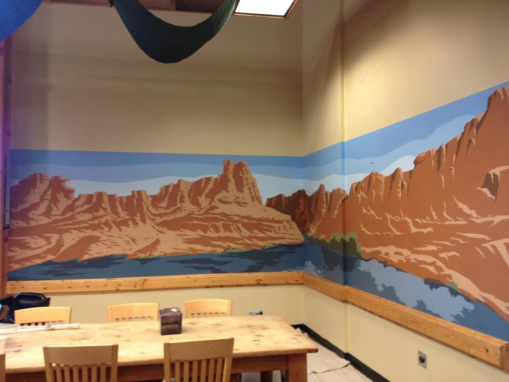 Commercial business murals denver littleton co g for Corporate mural