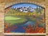 Commercial Office Mountain Mural Scene