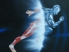 Custom Murals:Athlete Transformer