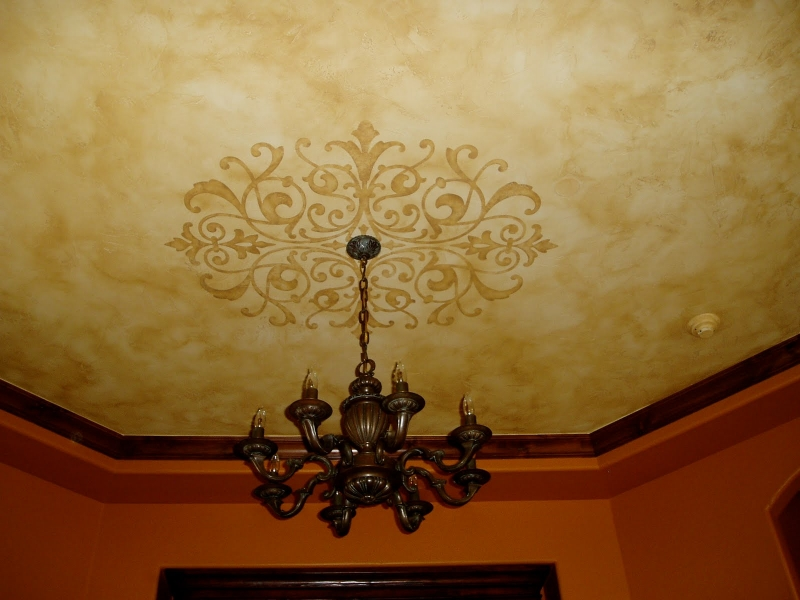 Ceiling Painting and Decorating - G.Go Decorative Denver : G. Go ...