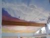 Sunset Sky Cloud mural