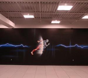 Mural Artist Paintings in Parker